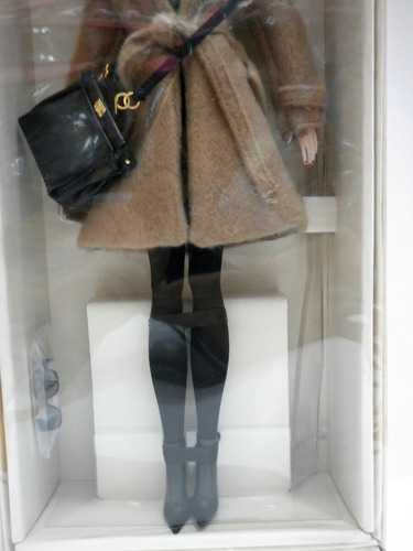 barbie classic camel coat