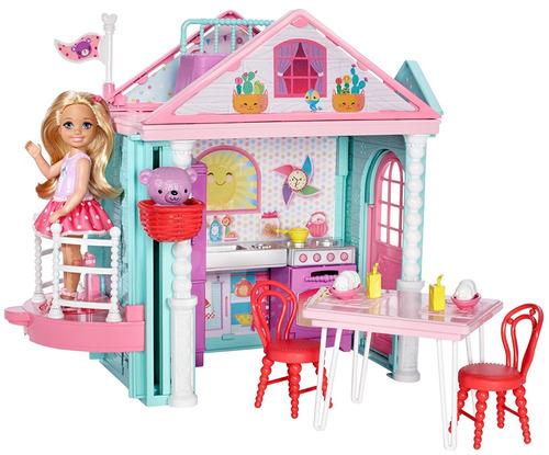 barbie club chelsea / casa de chelsea jugueteria  bunny toys