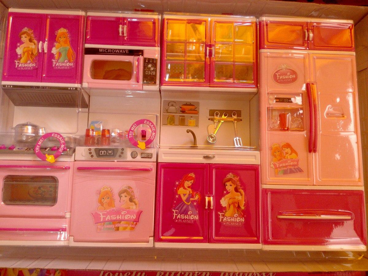 Barbie cocina de lujo con sonidos y accesorios envio for Marcas de accesorios de cocina