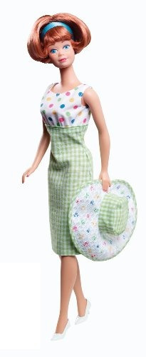 barbie coleccionista barbie y midge 50 aniversario muñeca gi