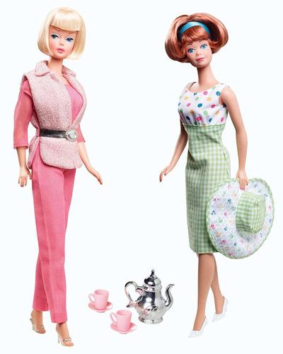 barbie collector barbie y midge 50\xa0aniversario set de r