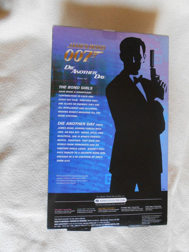 barbie collector: die another day, 007 -