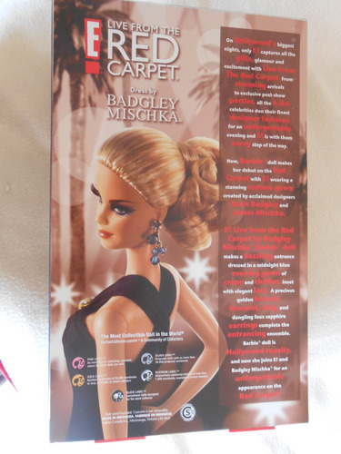 barbie collector-e live from the red carpet- badgley m