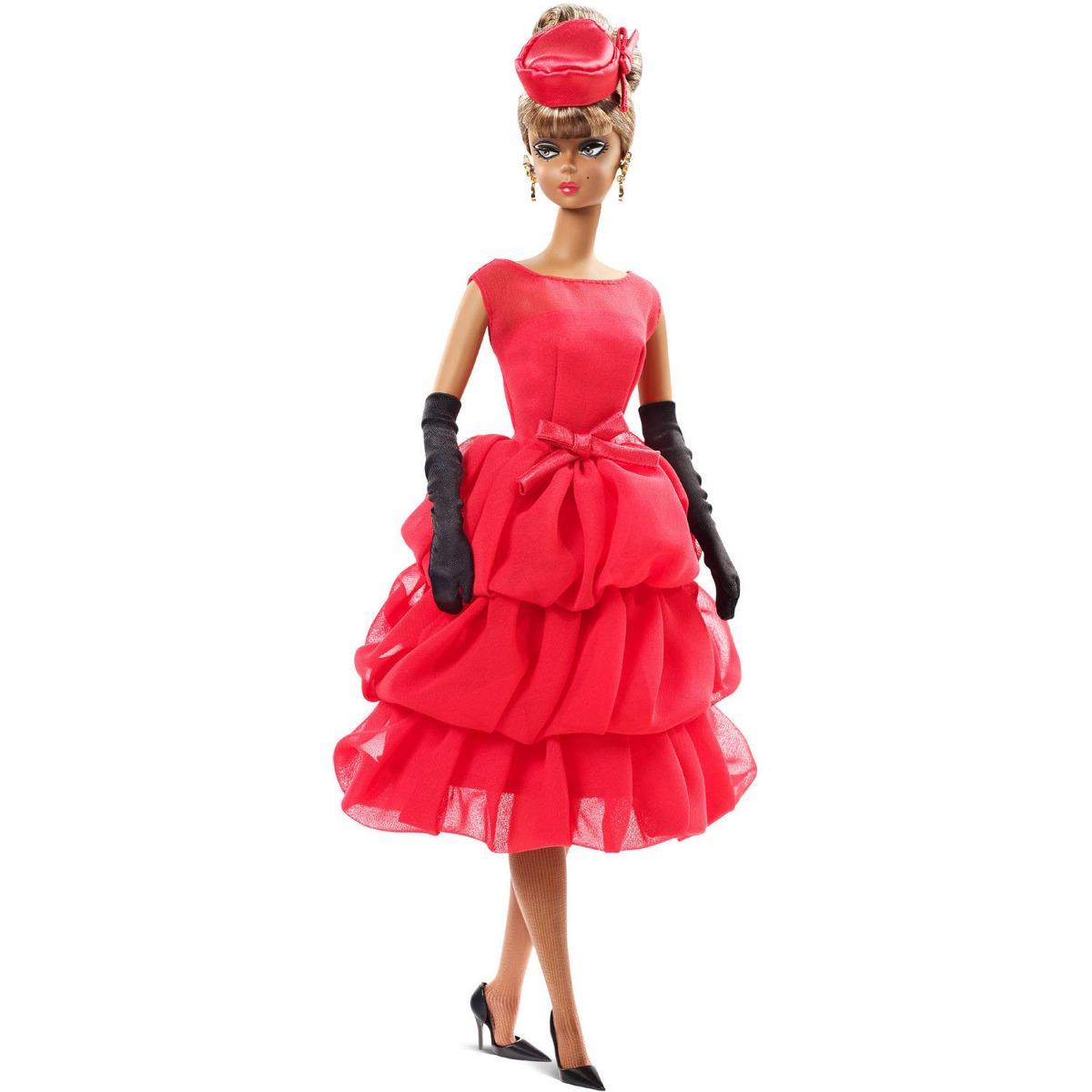 Barbie vestido rojo