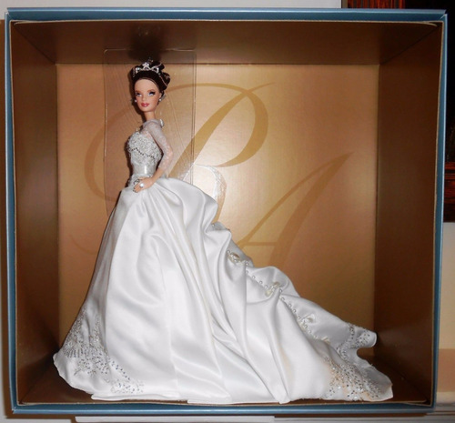 barbie collector reem acra bride wedding - noiva - 2007