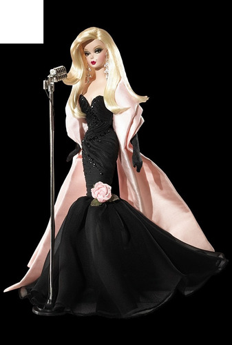 barbie collector - stunning spotlight - estilo vintage silks