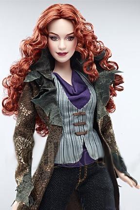 barbie collector victoria eclipse  crepúsculo ruiva twilight