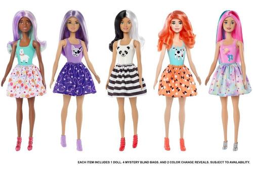 barbie color reveal, muñeca sorpresa