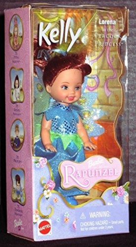 barbie como rapunzel kelly club lorena como pavo real prince