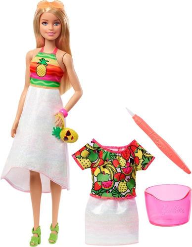 barbie crayola sorpresa de frutas
