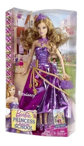 barbie delancy escola de princesas - bonellihq k19
