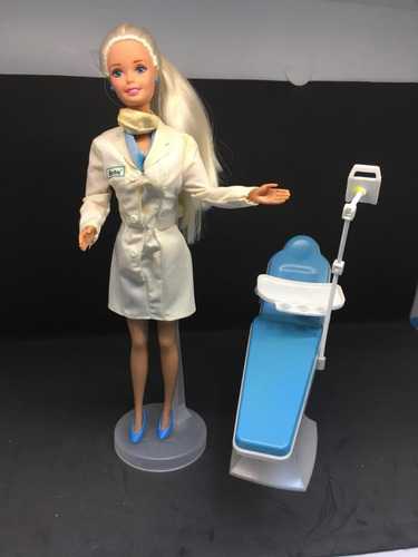 barbie dentista doctor 1997 antiga anos 80 90