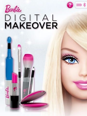 barbie digital makeover p/ipad tablet jugueteria bunny toys