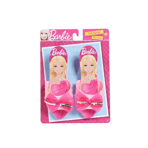barbie doll-ightful jugar shoes - light pink