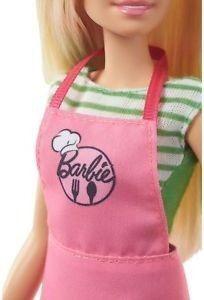 barbie e ken cozinhando mattel fhp64