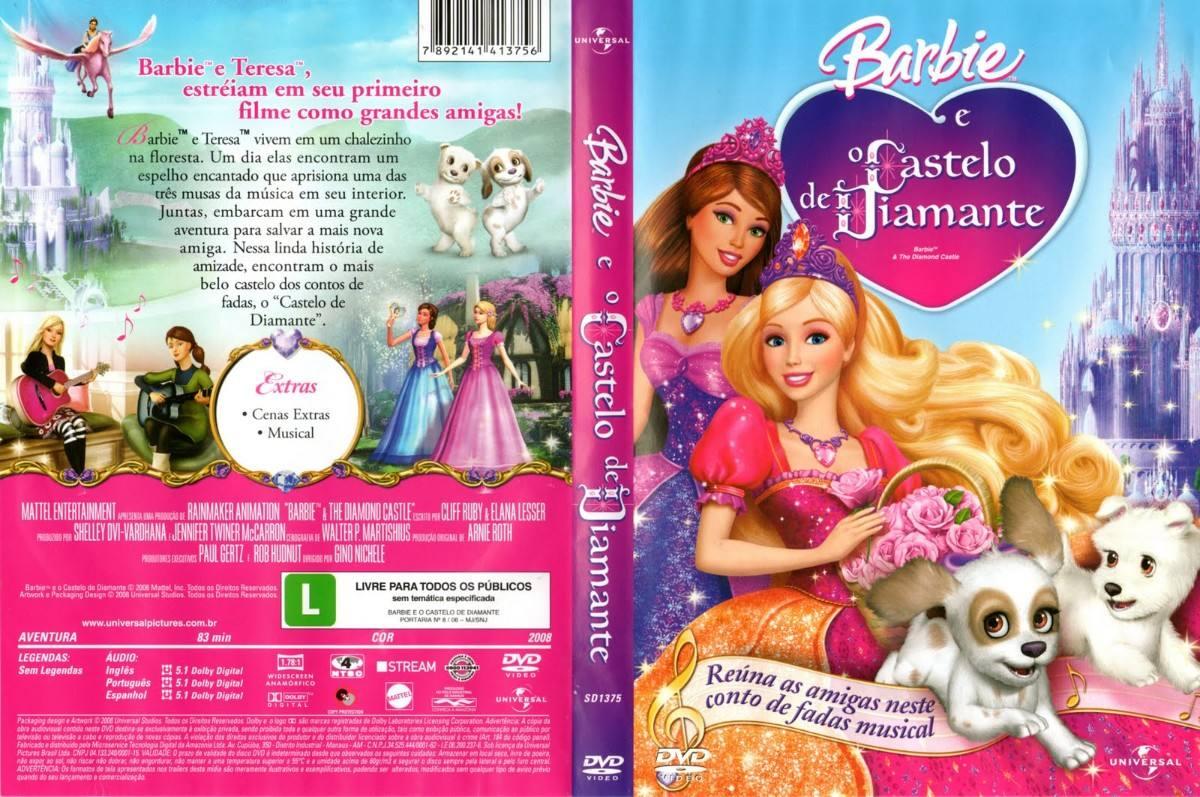 filme barbie eo castelo de diamante