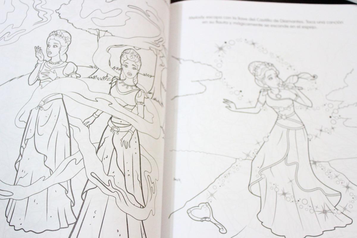 Barbie El Castillo De Diamantes Para Colorear Libro - Bs. 930.000,00 ...