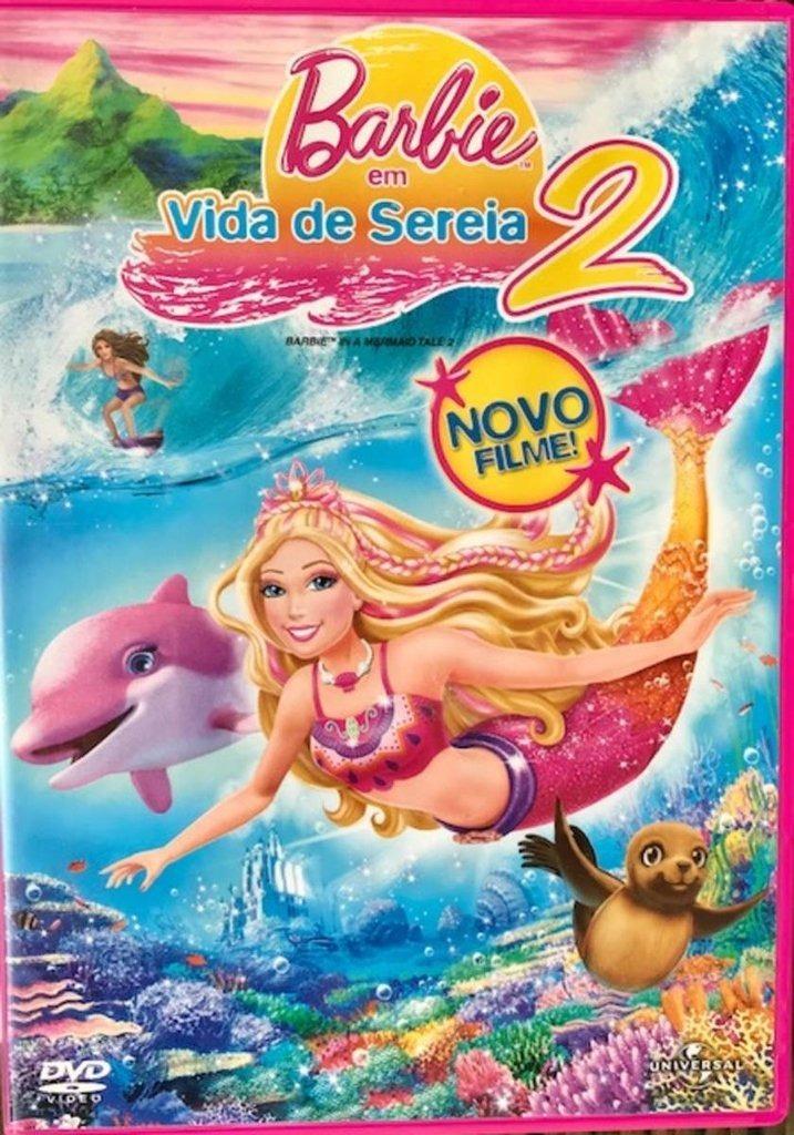barbie em vida de sereia 2 r 34 99 em mercado livre
