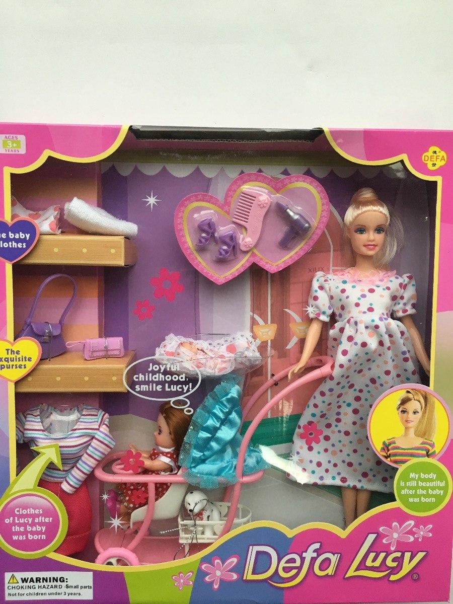 90 Upqzmvgs Accesorios Barbie Juguete Bs38 Niñas Familia Embarazada En UMqSzVp