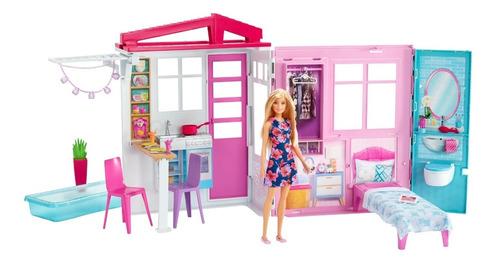 barbie estate, casa con alberca y accesorios