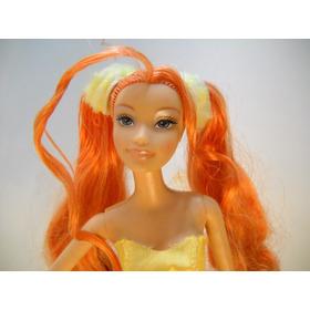Barbie Fairytopia Dandelion Hada Naranja En Caja Narey Mp