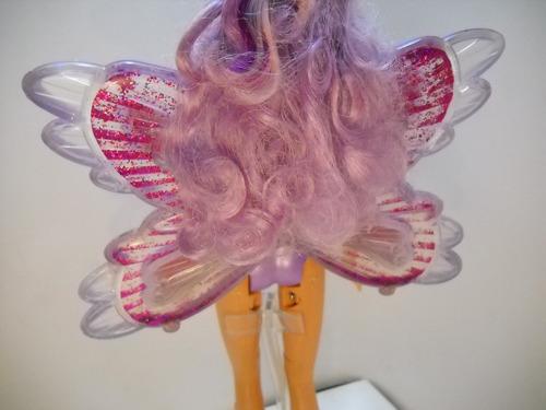barbie fairytopia mermaidia hada glitter swirl fairy narey