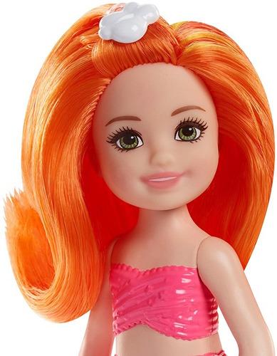 barbie fantasy chelsea sirena - rainbow cove fkn03-fkn05