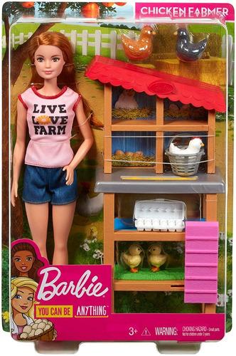 barbie farmer fazendeira ruiva fashionistas farm granjeira