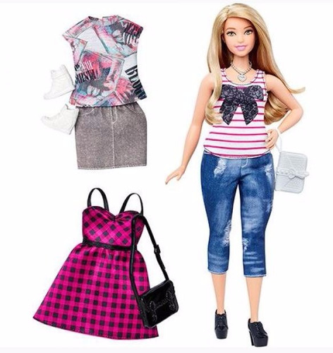 barbie fashionista coleccion 2 cambios adicionales