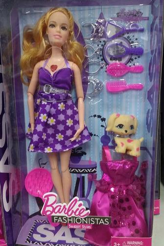 barbie fashionista com acessórios