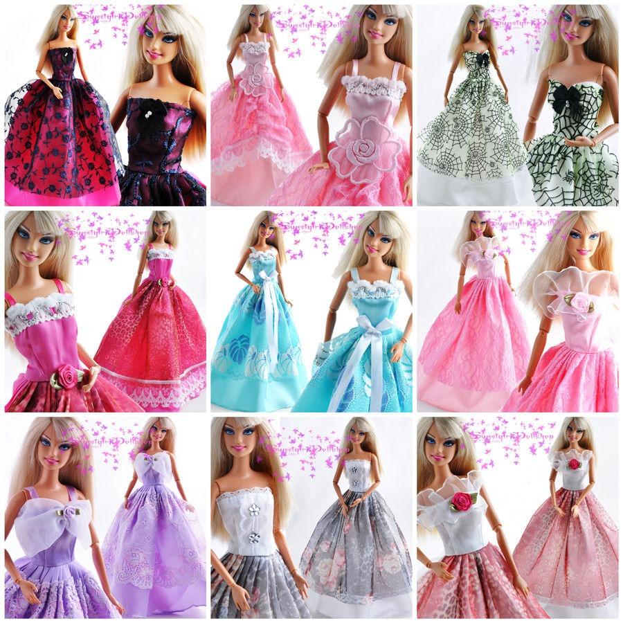 Barbie Fashionista Vestidos De Novia Gala Fiesta - Bs. 597,80 en ...