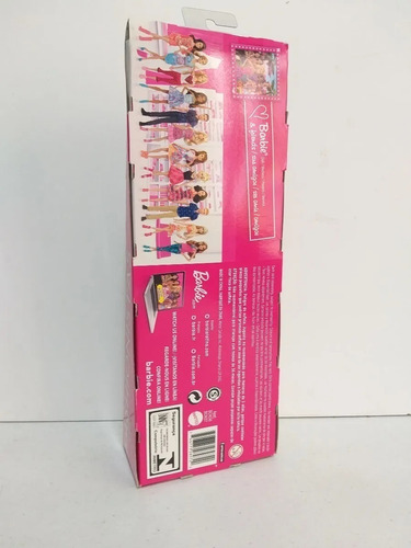 barbie fashionistas 2014 looks dream house - saia balone