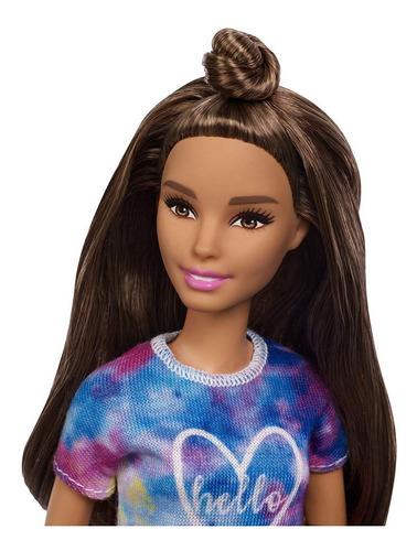 barbie fashionistas petit tie-dye dreamer 112