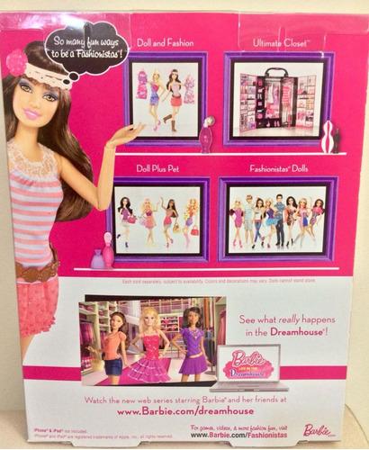 barbie fashionistas teresa 2011 c/ acessórios articulada
