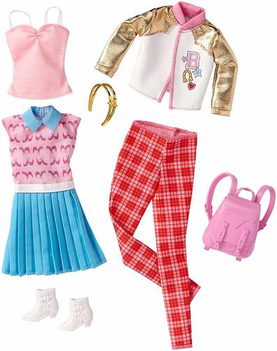 barbie fashions look 2-pack fashionistas cartela roupa 2017