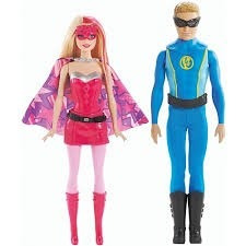 barbie filme casal super princesa chg37 #