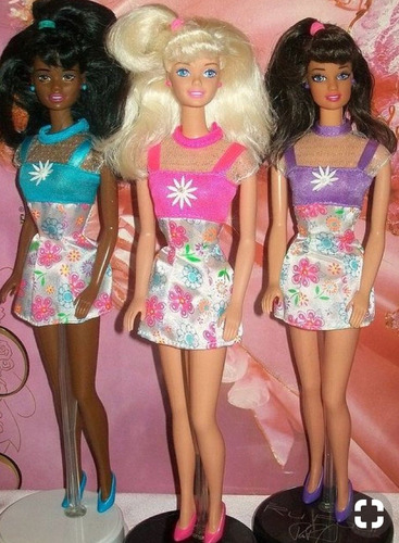 barbie flower fun