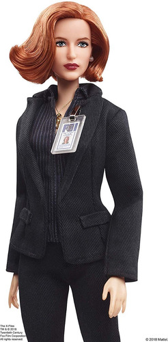 barbie frn the x files agent dana scully doll multicolor
