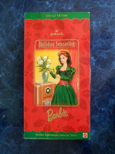 barbie hallmark collection - holiday sensation usa 1998