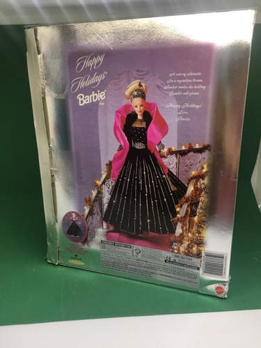 barbie happy holidays collector edition 1998 holiday natal
