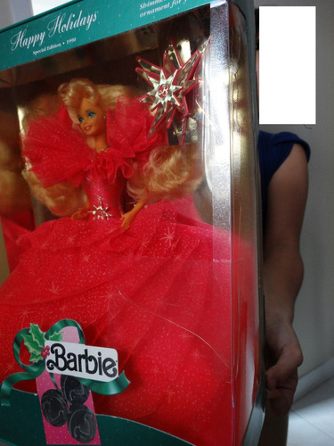 barbie holiday 1990