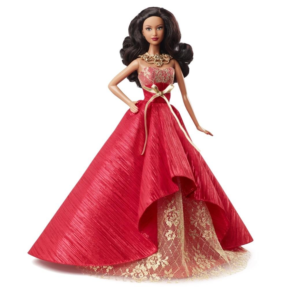 Barbie Holiday Natalina 2014 Afro Negra Doll Boneca