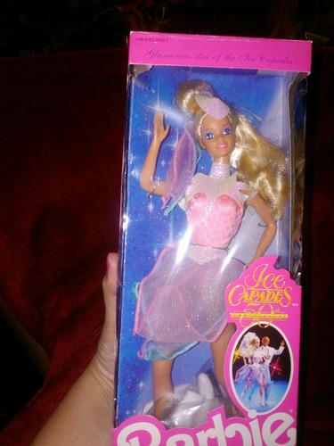 barbie ice capades 1988 totalmente nueva intacta sellada