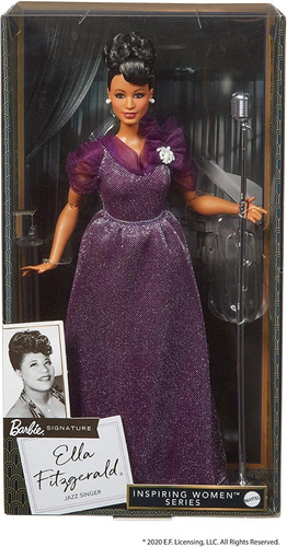 barbie inspiring women ella fitzgerald cantora collector