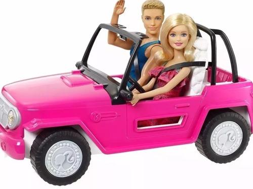barbie jeep de playa. carro jeep barbie.
