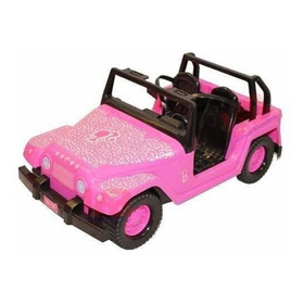 Barbie Jeep Safari Fun