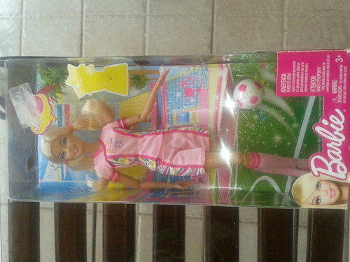 barbie jugadora de futbol
