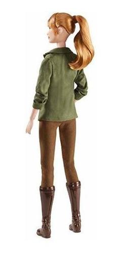 barbie jurasico mundo claire muñeca
