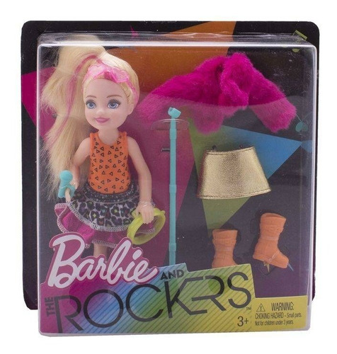 barbie kelly and the rockers roqueira vintage mechas mattel