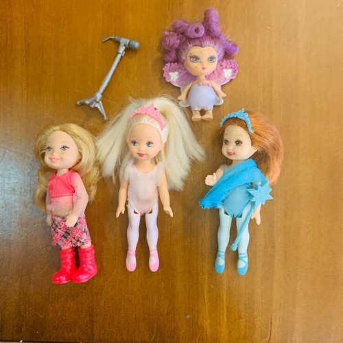 barbie kelly lote com 3 + fada melody ballet bunch